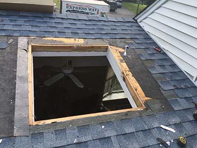 roof skylight installation