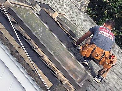 Leaky Skylight Repair
