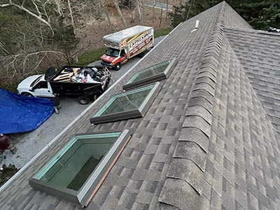 skylight leak repair contractor